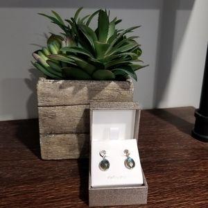 Jewelry - LABRADORITE STERLING SILVER EARRINGS
